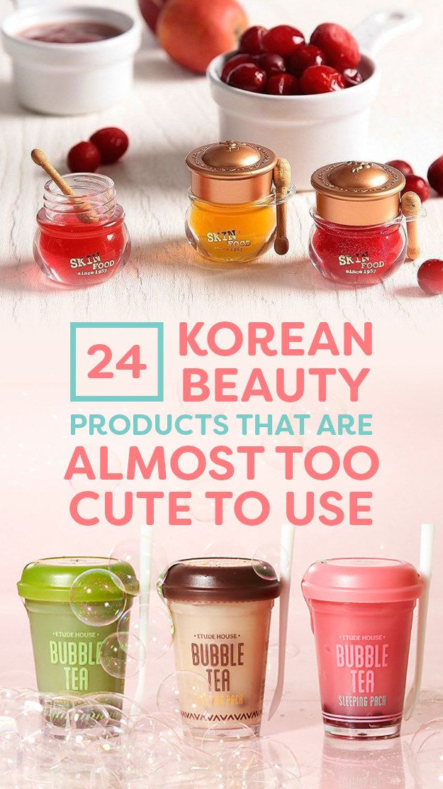 21 Korean Beauty Products That Are Almost Too Cute To Use