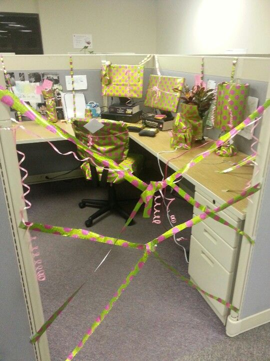 Co Worker Birthday Sabotage Hehe