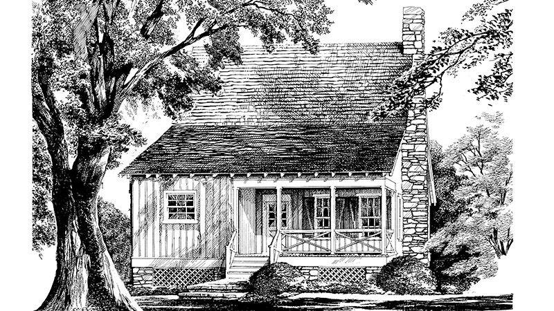 Hunting Creek Alternate Southern Living House Plans Southern House Plans Cottage House Plans