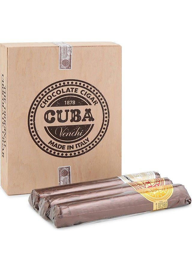 VENCHI - Chocolate cigar gift set | Selfridges.com