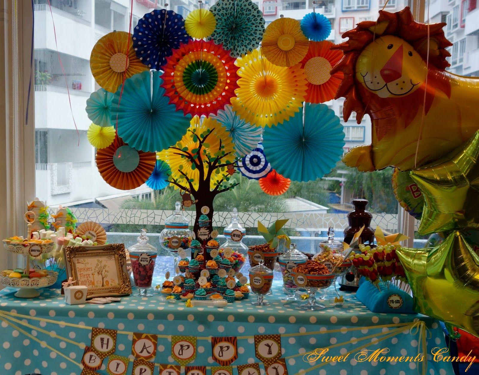 A Reception to Remember Safari Jungle Candy Bar A popular theme