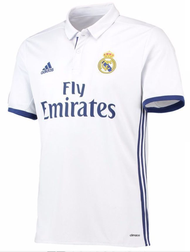 650a199ec91 New ADIDAS REAL MADRID HOME JERSEY 2016 17