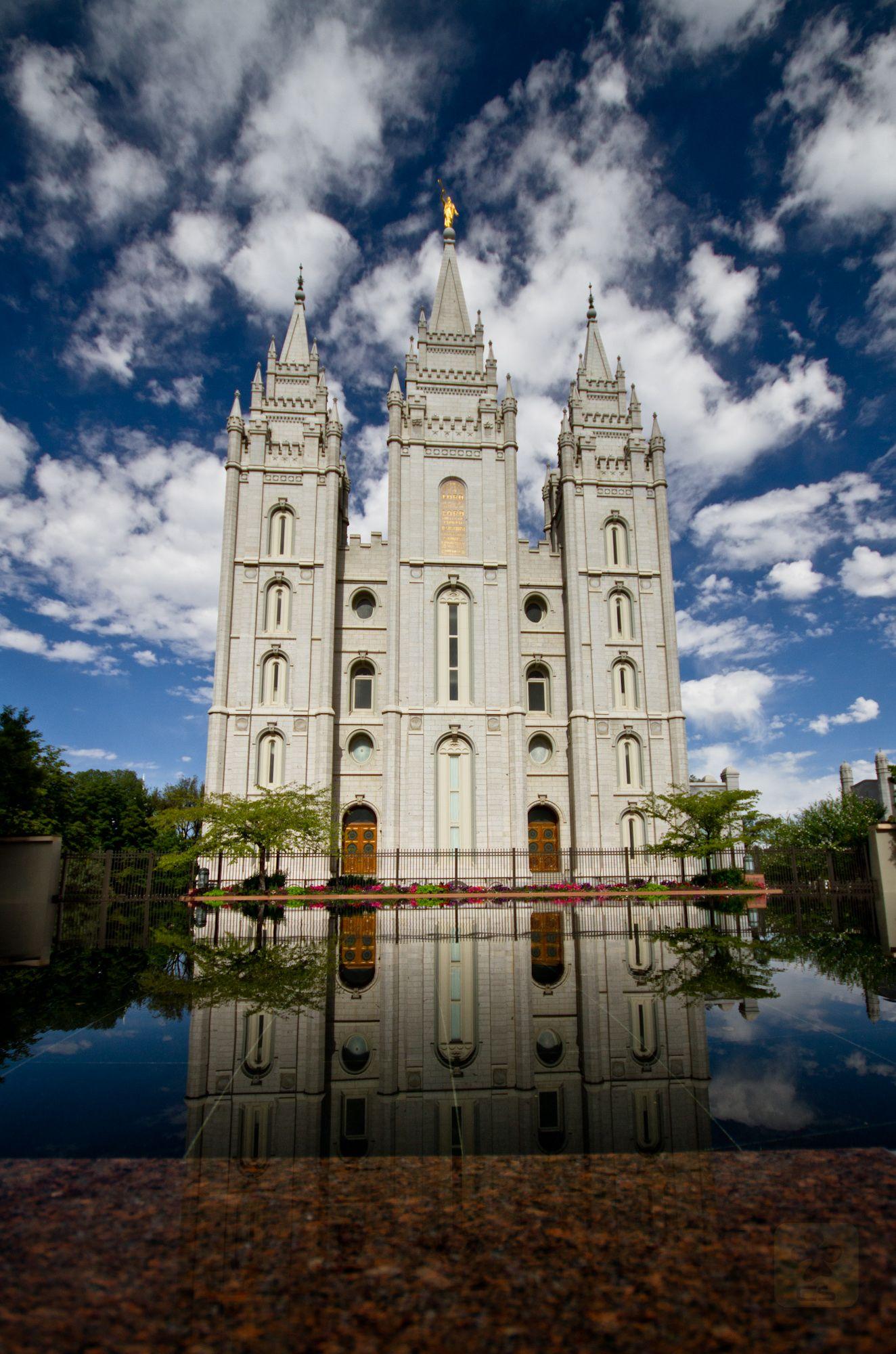 Mormone Reflections @ Salt Lake City Utah