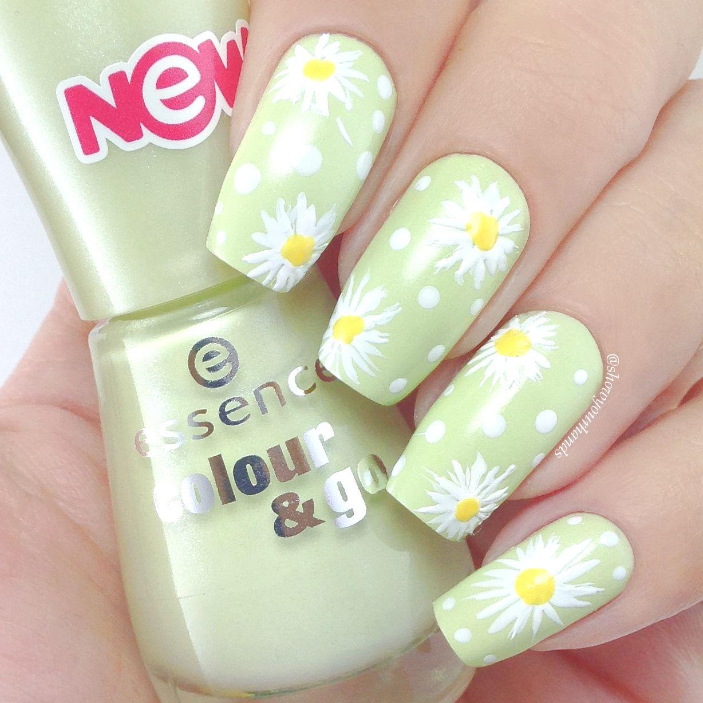 essence 178 hello spring! | Fab nails | Pinterest | Uña decoradas