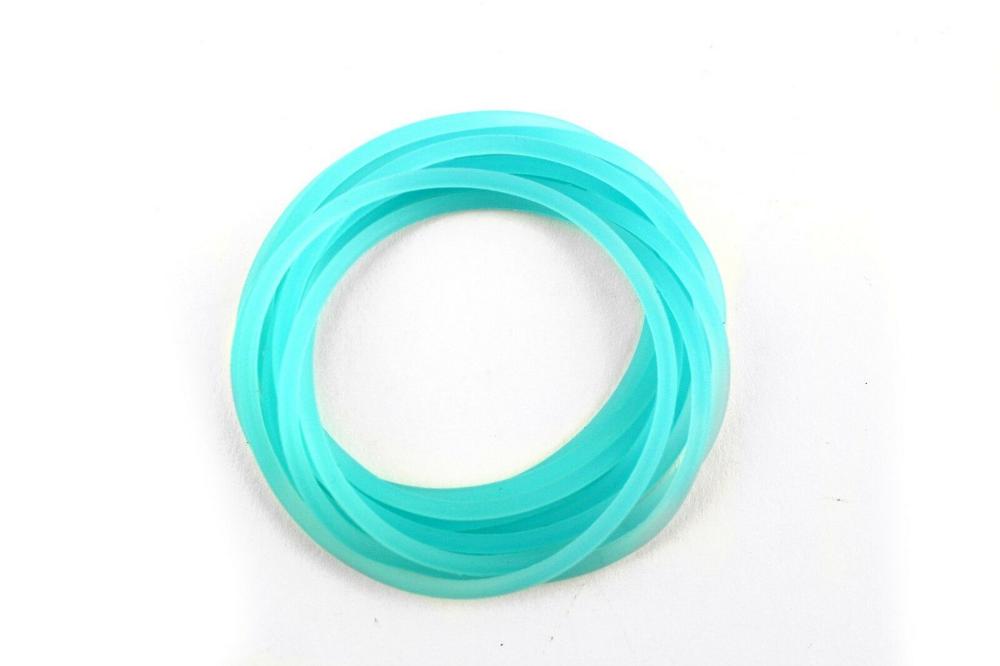 50pc 100pc Pastel Sillicon Jelly Bracelets Assorted Rainbow Party  Favor Prizes