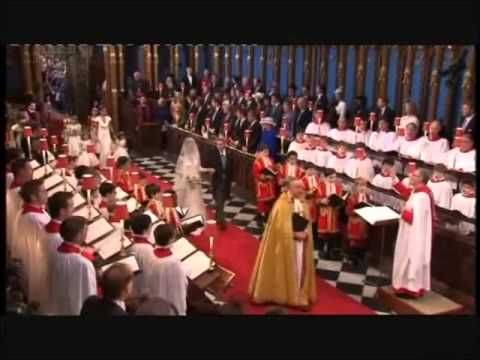 The processional piece at the start of the marriage ...