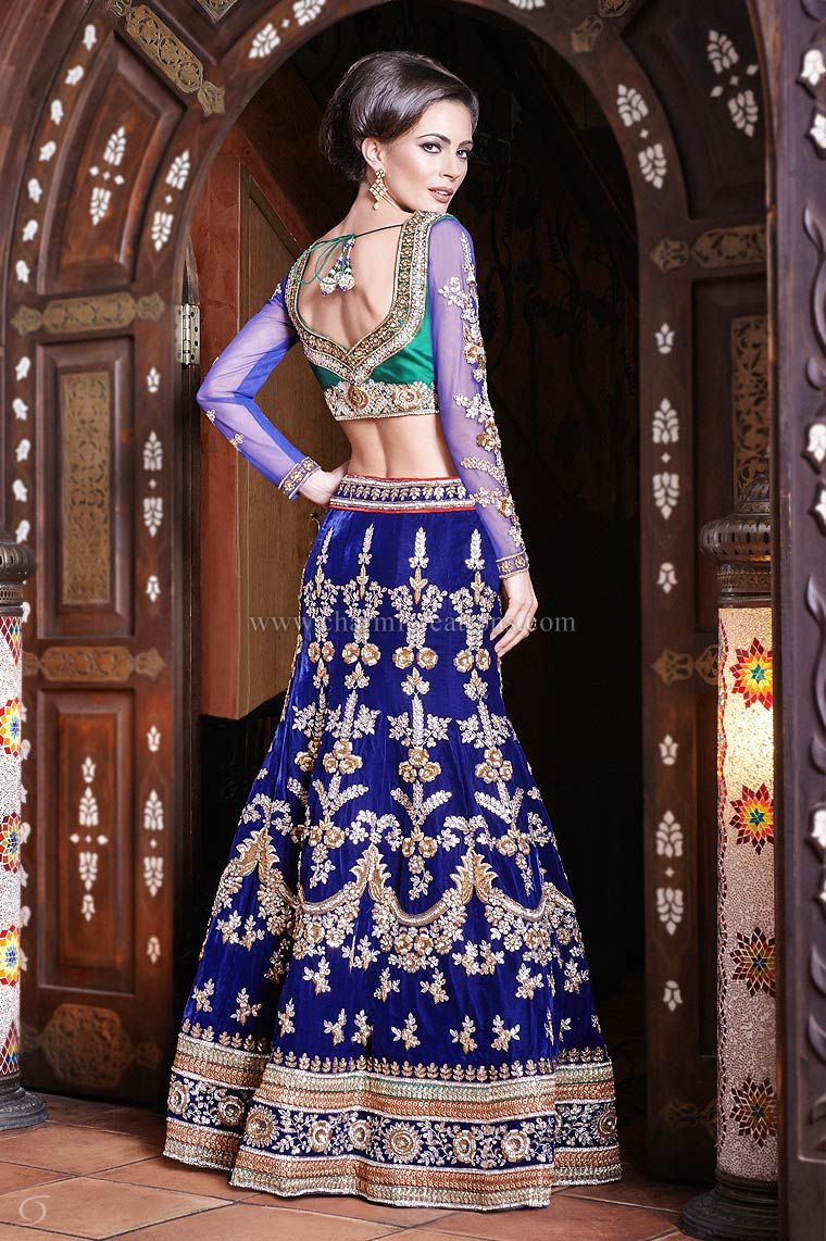 Wedding Reception Dresses Engagement Outfits Wedding Lenghas Evening ...