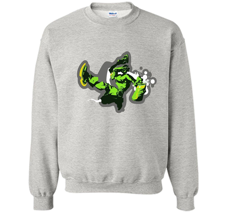 Overwatch Lucio Tag Spray Tee Shirt