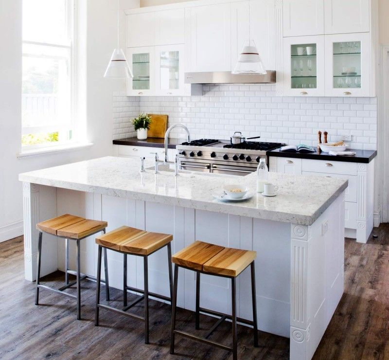 Quartz Kitchen Ideas: Silestone Blanco Orion - Google Search