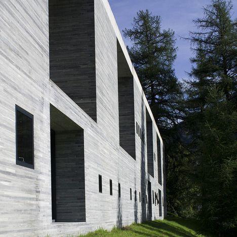 peter zumthor vals_dezeen Arquitectura, Edificios, Casas