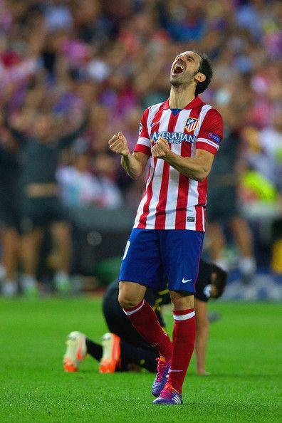 Juanfran of Club Atletico de Madrid