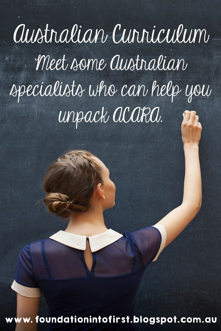 Meet Some Australian Curriculum Specialists