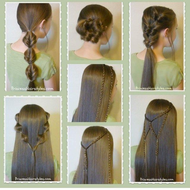 Just uploaded a new video! 7 more easy hairstyle ideas. Instructions for all of these styles on our YouTube channel #hair4myprincess (link in profile.)