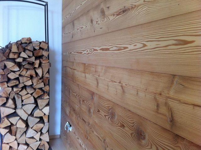 Holz Wandverkleidung Lärche | Sauna | Pinterest | Lärche ...