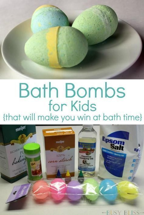 Bath Bombs for Kids That Will Make You Win at Bath Time - Busy Bliss