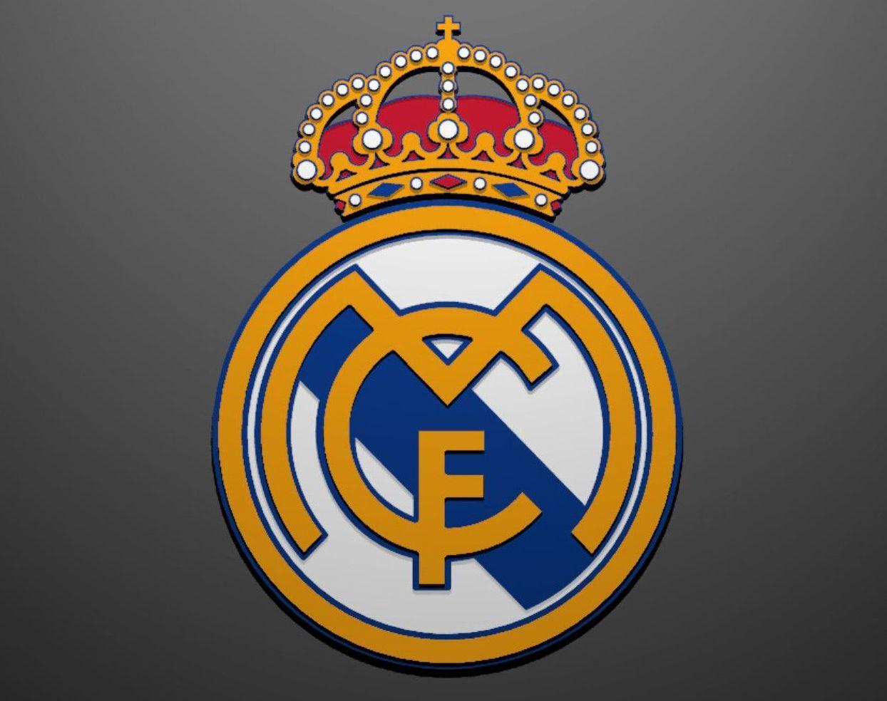 Color Real Madrid Logo Real Madrid Logo Real Madrid Madrid Wallpaper