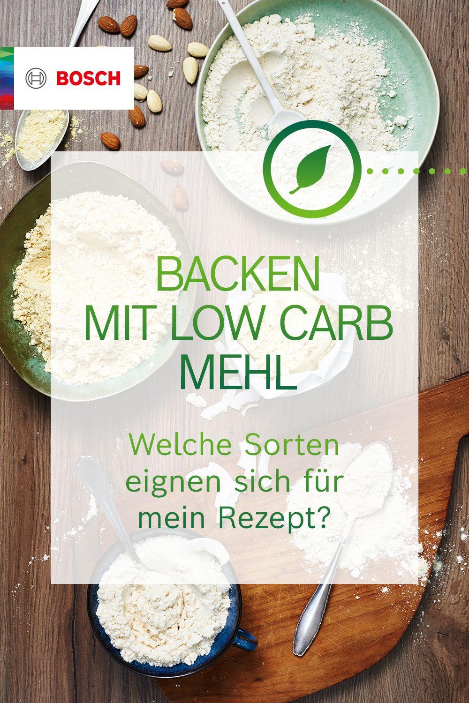 Gesünder backen mit Low Carb Mehl