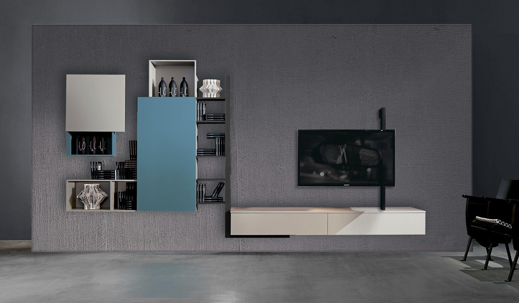 fimar mobili presenta il soggiorno da loft | porta televisione ... - Soggiorno Fimar 2