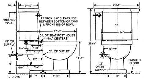 Toilet Dimensions From Wall. Image result for what is the width of a floor mounted toilet