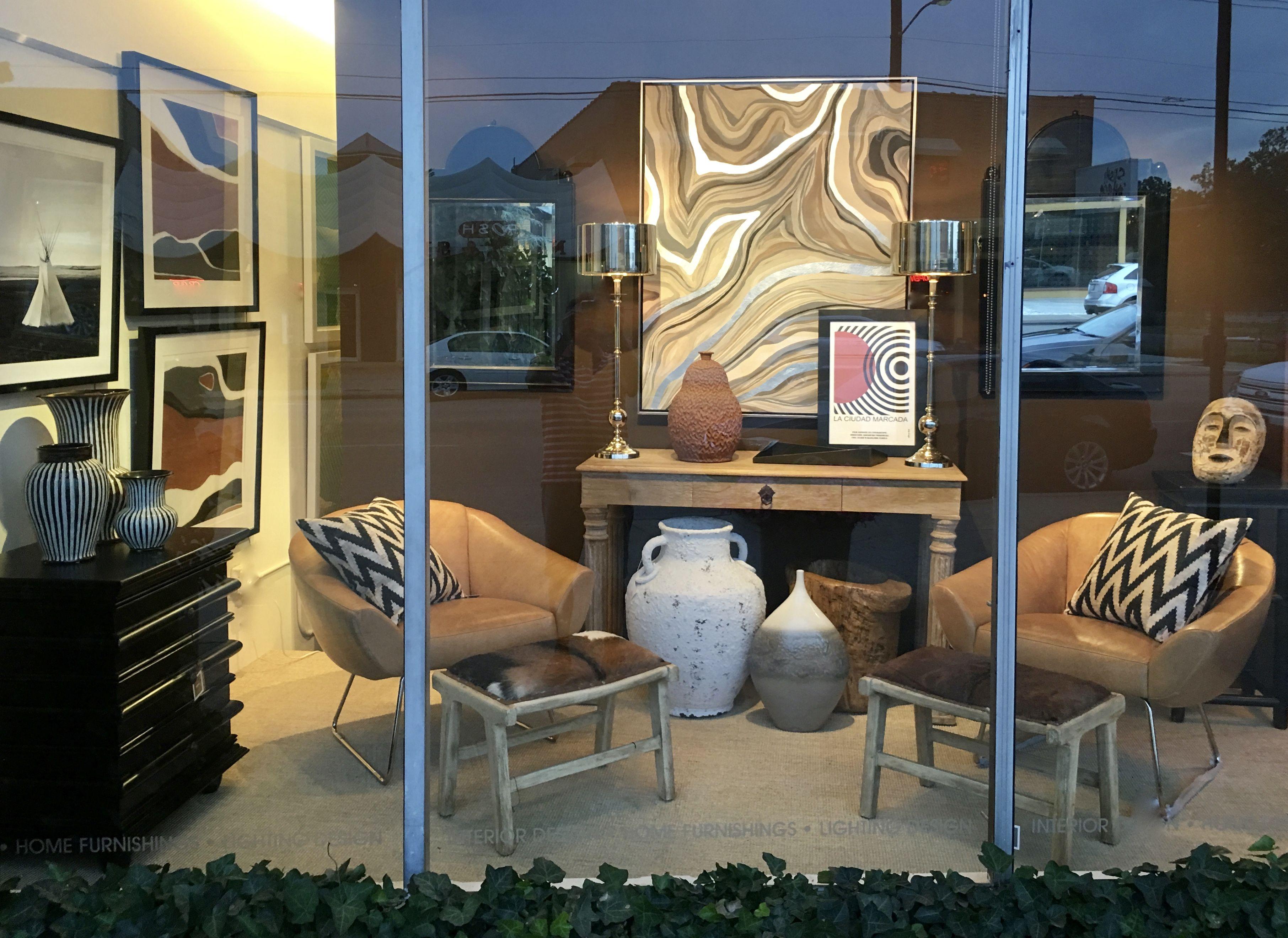 South Window display at Richard Neel home in Tulsa's Brookside ...
