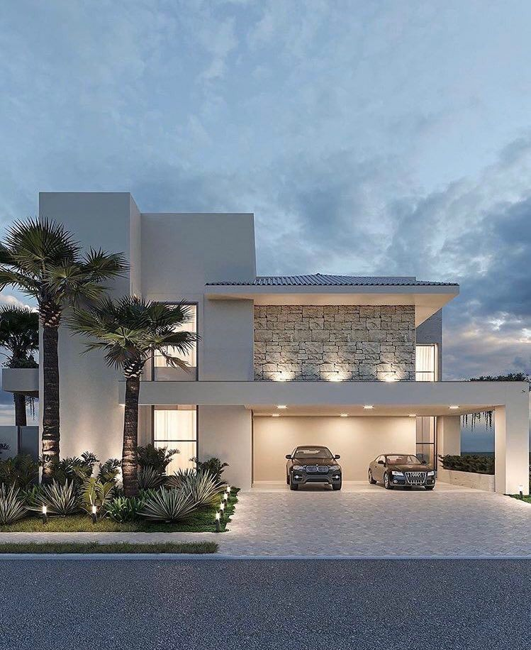 Dream home exterior shared by lizaposwayo on We Heart It