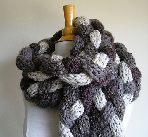 Photo of Rapunzel Scarf pattern by Kate Lonsdale