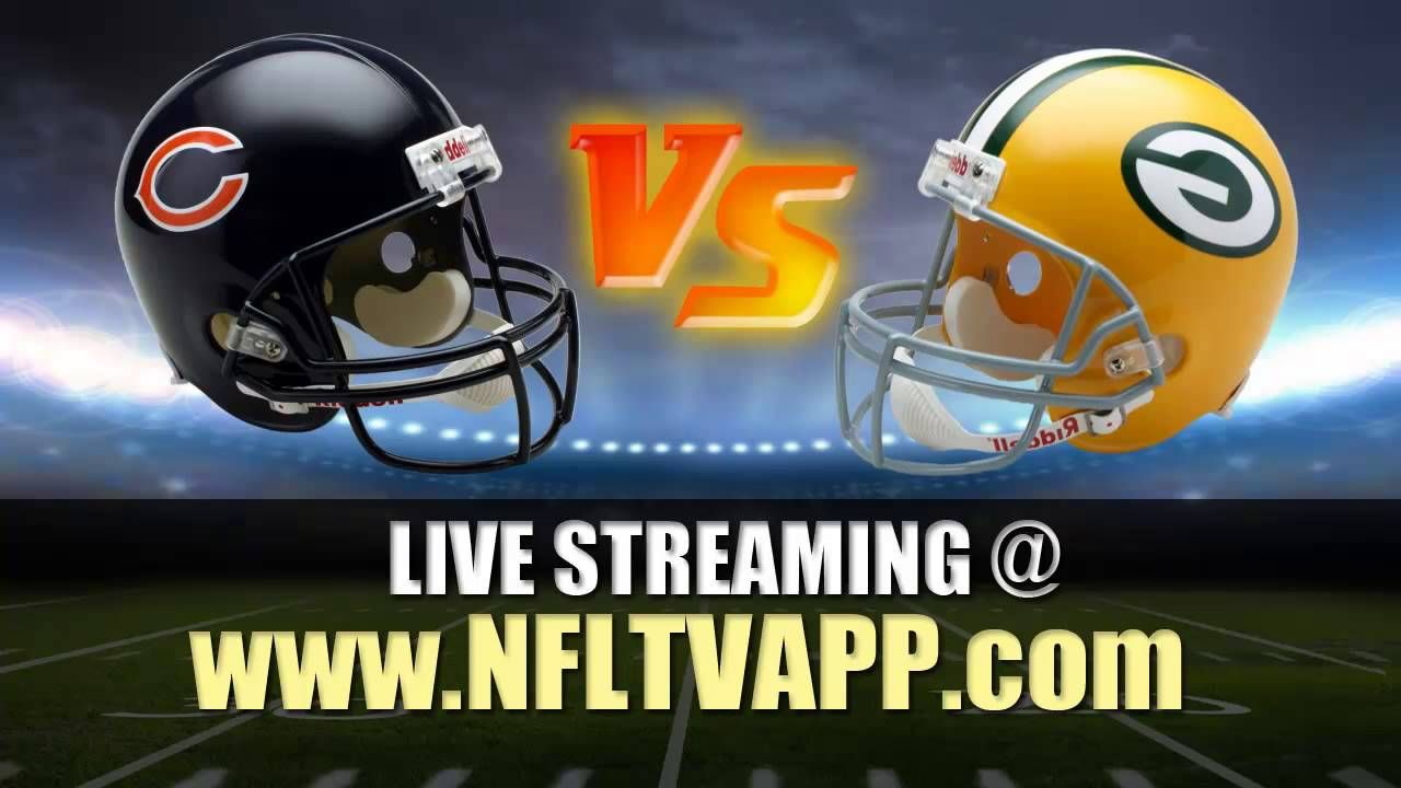 Watch Online Chicago Bears Vs Green Bay Packers Live Stream Nfl Footba Stream Nfl Games Nfl Tv