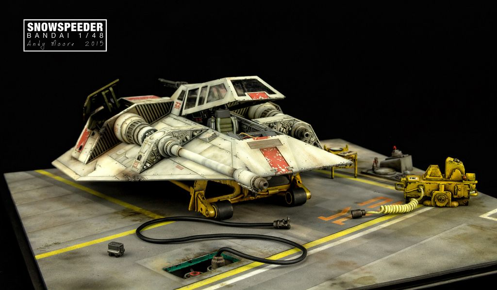 Bandai Snowspeeder | Cool Things | Star wars models, Star wars toys