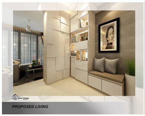 Dc Vision Design Contemporary Living Area Shoes Cabinet Modern Entry Design Modern House Design