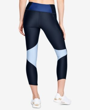more photos 1f9bf f272b Under Armour Fly Fast Cropped HeatGear Leggings - Blue XL