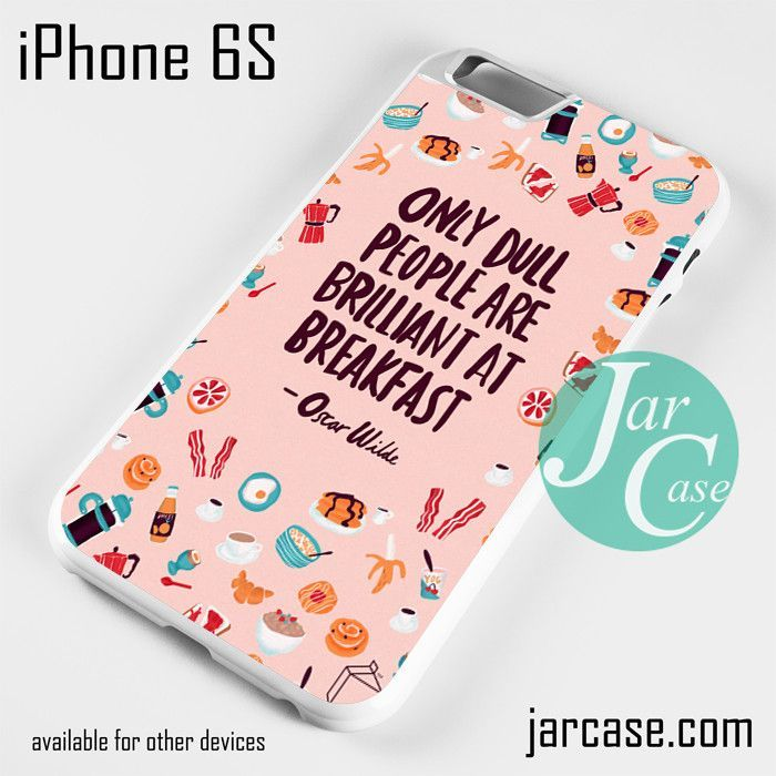 Oscar Wilde Quote YG Phone case for iPhone 6/6S/6 Plus/6S plus