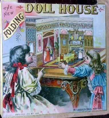 folding doll house