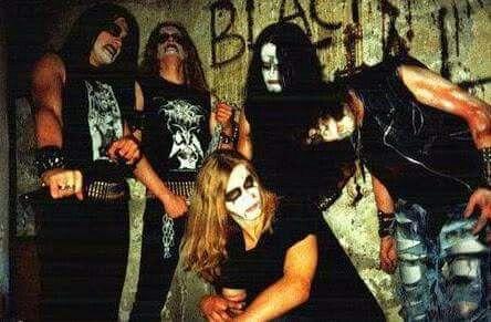Darkthrone, Janusz and Mayhem in 1991