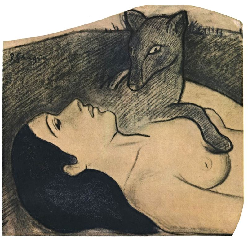 Gauguin the loss of virginity, cute nude small girl