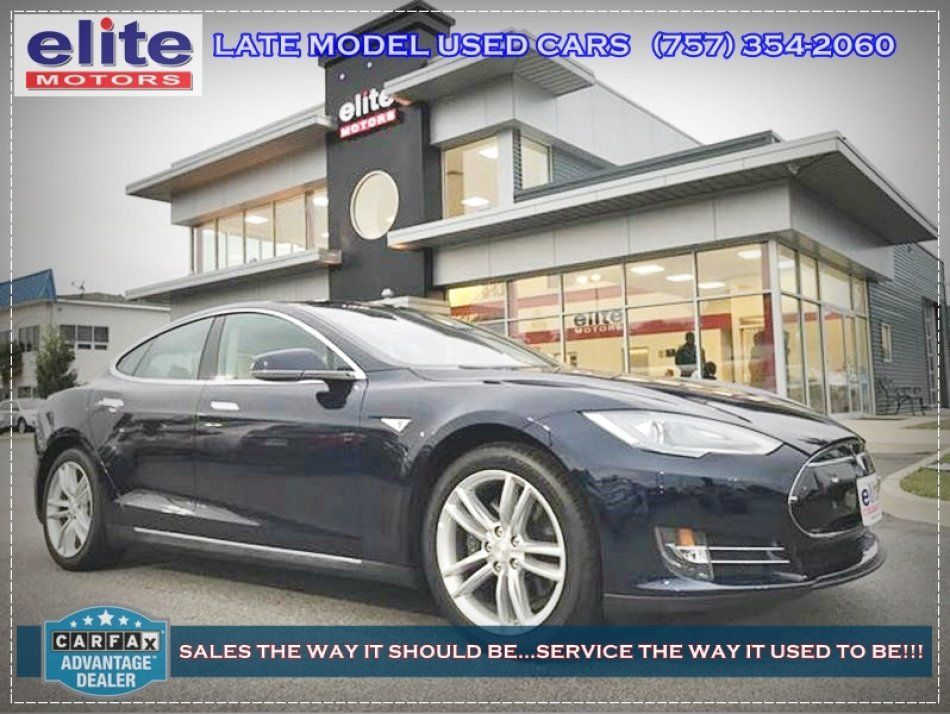 Certified 2014 Tesla Model S Base near Virginia Beach, VA