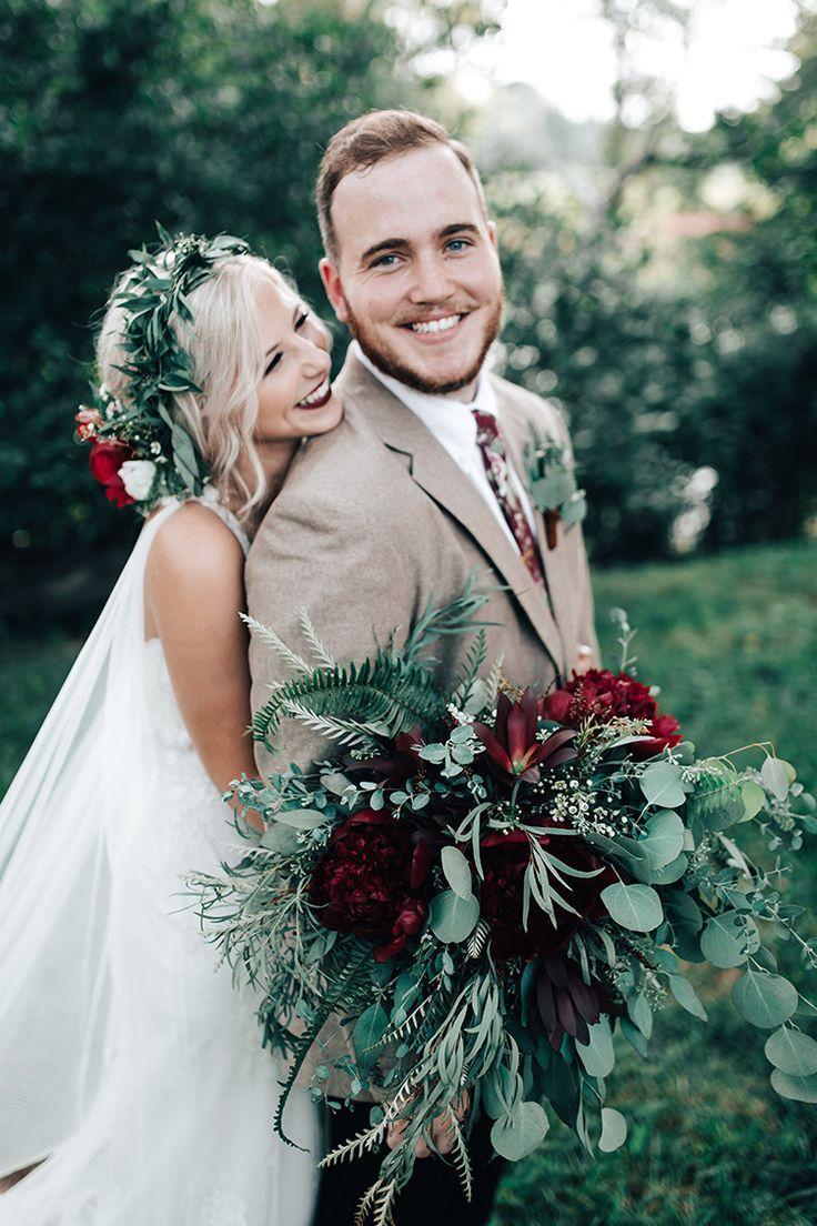 Dark & Moody Outdoor Wedding | Lexi & Will - The Pink Bride