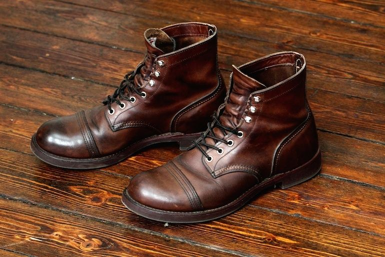 a3786e264d9 Fade of the Day - Red Wing 8111 Iron Ranger (3 Years) | Moiso | Red ...