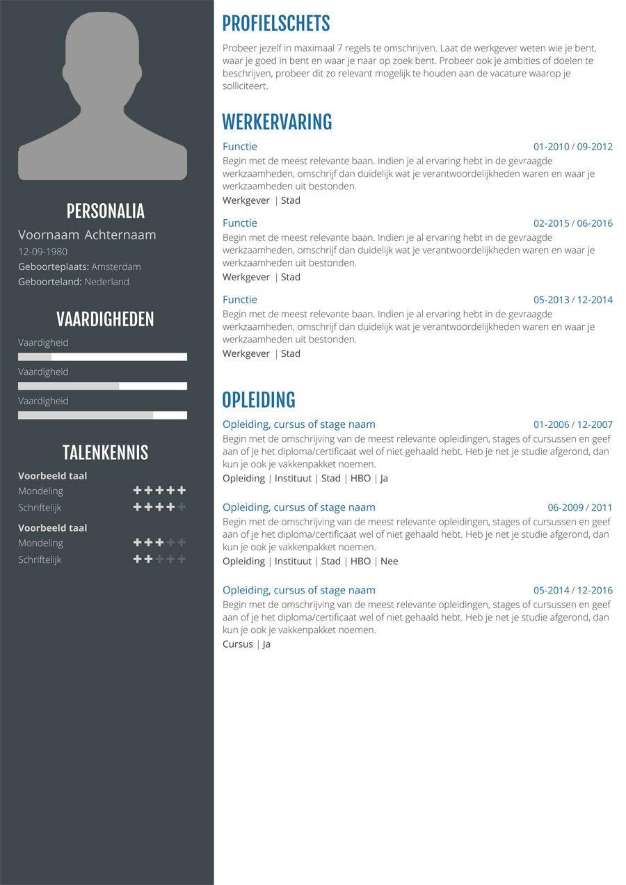 Online cv maken? Zo gedaan met onze app in 3 stappen