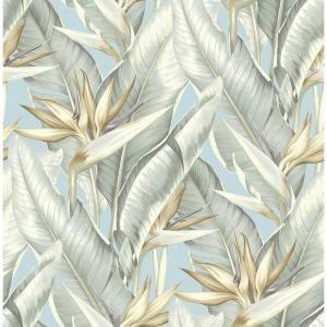 James Arcadia Blueberry Banana Leaf Wallpaper