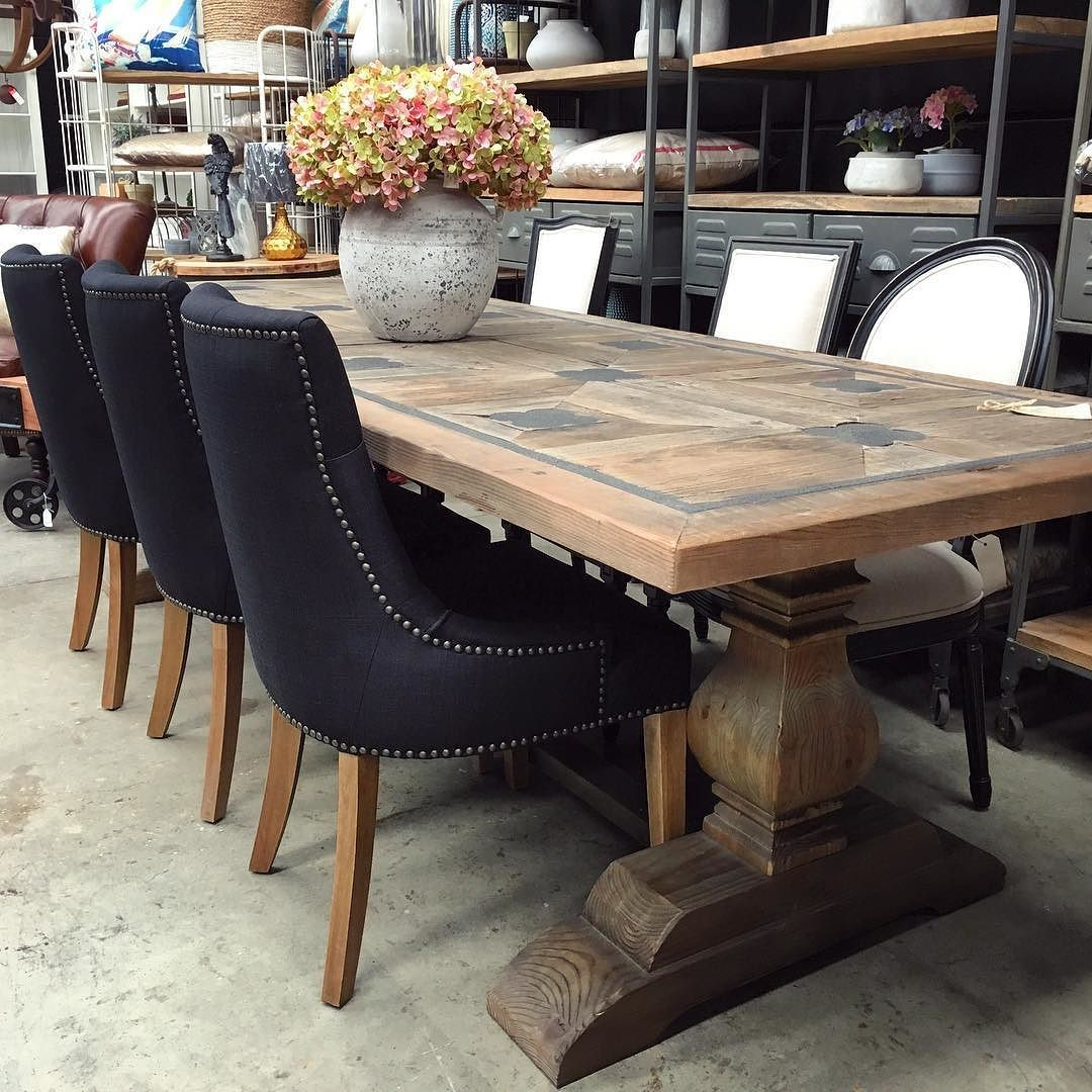 Metal Inlay Dining Table Canalside Interiors Greenwich Court
