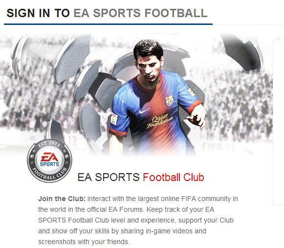 fifa 14 ultimate team WEB APP sign up or sign in to ea