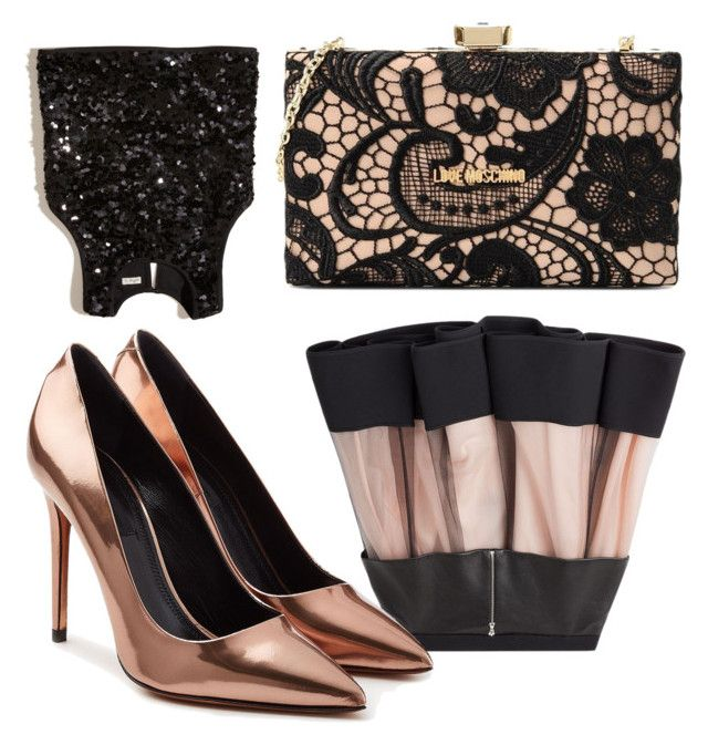"""new years eve"" by romana-trabelsi on Polyvore featuring David Koma, Hollister Co., Alexander Wang and Love Moschino"