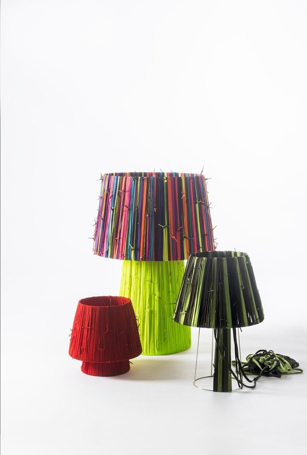 Curro Claret, the creator that recycles people. Shoelaces lamps for Metalarte made with @Camper shoelaces in collaboration with the homeless foundations @arrelsfundacio and @fundacionsmp
