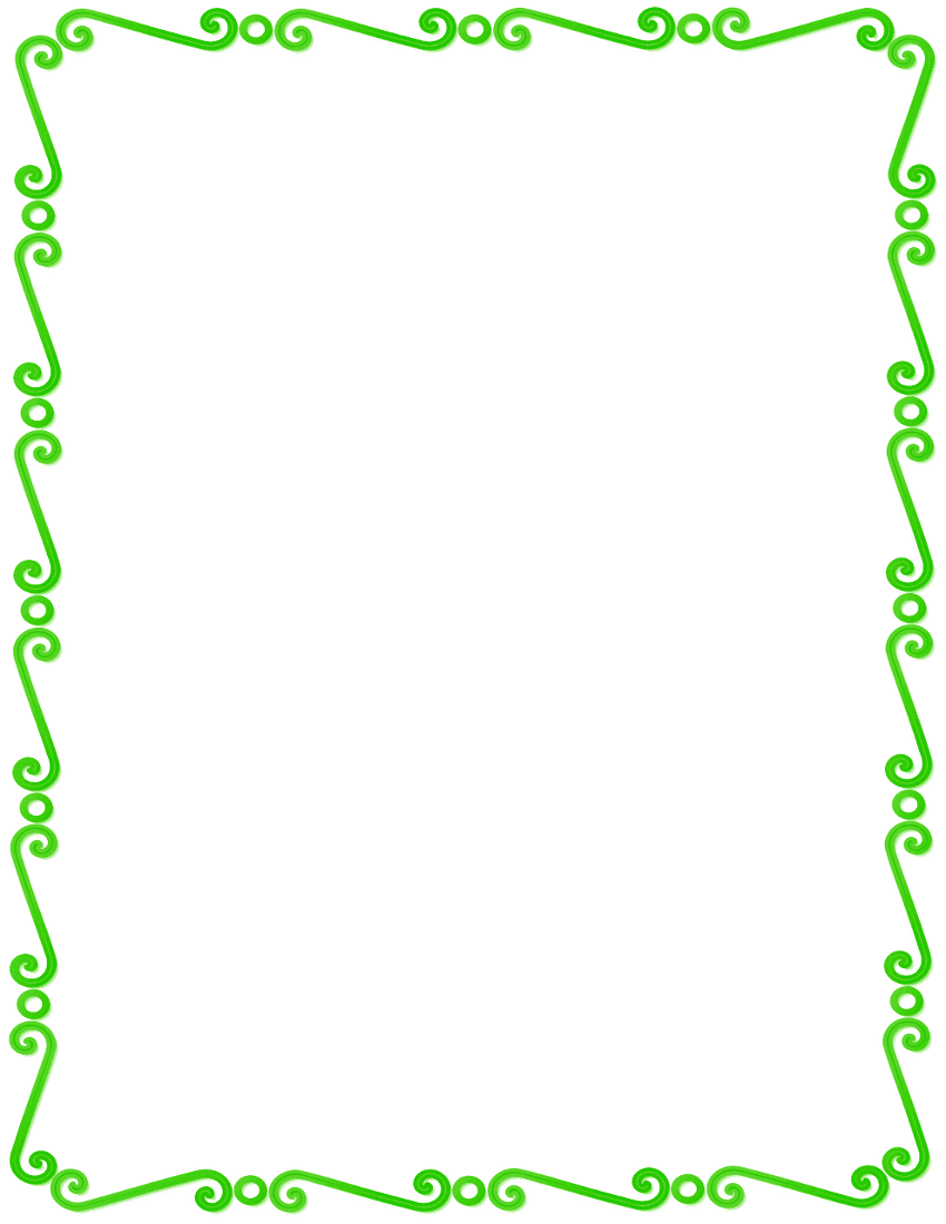 school theme border clipart | Free Clip Art Borders Frames Page ...