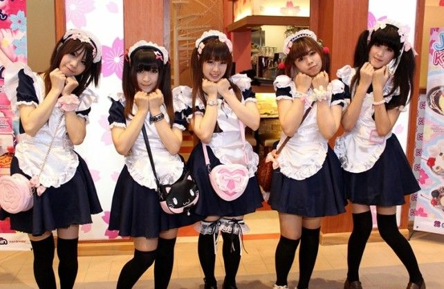 Image result for maid cafe akihabara