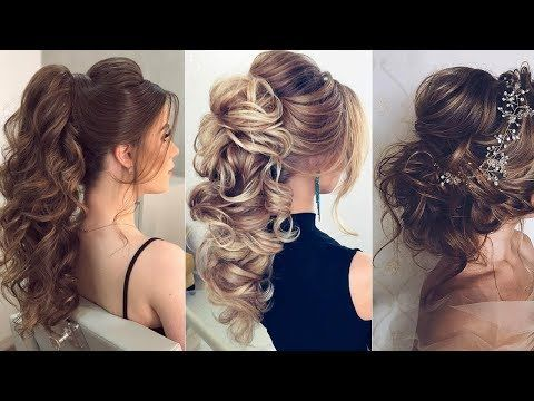 Elegant Prom Hairstyles For Long Hair 2018 Compilation