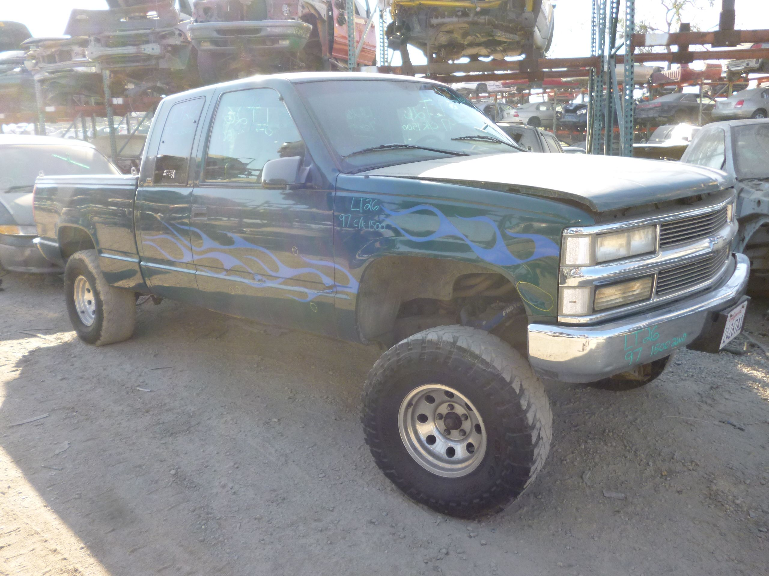 1997 Chevy C K 1500 Extended Cab Short Bed 2wd 5 7l 231k Miles