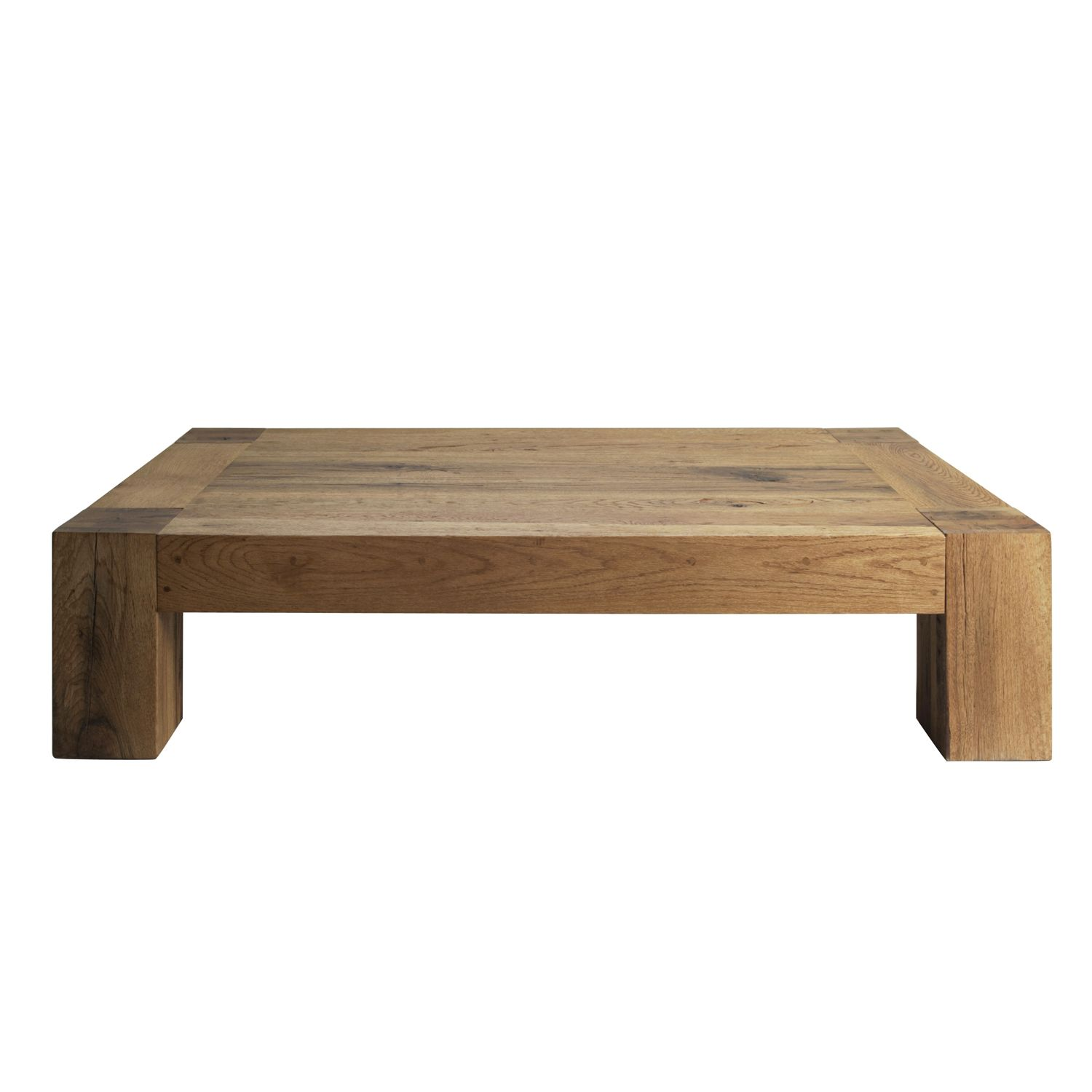 Heal 39 s umbrian coffee table wild oak living room for Large low coffee table