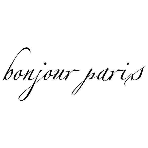 Zapfino™ Text: Bonjour Paris Liked On Polyvore Featuring