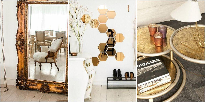 3 DIY para decorar con oro tu casa